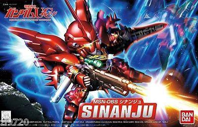 GUNDAM BANDAI SD SUPER DEFORMED BB MODEL KIT BB365 UC MSN-06S SINANJU FIGURE