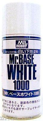 Mr Hobby Base White 1000 180ml Spray B518 Gunze GSI Creos Paint Primer