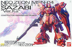 Back-Ordered Gundam 1/100 MG Neo Zeon MSN-04 Sazabi Ver. Ka Mobile Suit Model Kit Bandai