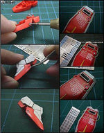 AW-016A Gundam & Weapon Model Detail Thruster Builders Parts Photo Etch Add on - USA Gundam Store