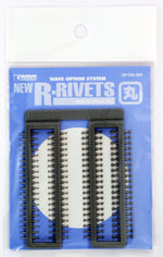 Wave NEW R RIVETS - Enhancement Rivets In 4 Diameters, 1.0, 1.2, 1.6 and 2.0mm