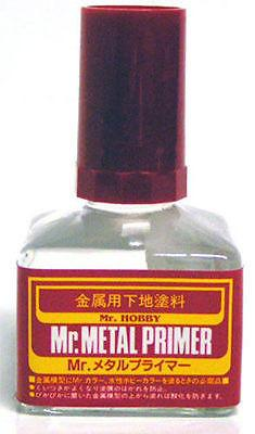 Mr Metal Primer 40ml MP242 Gunze GSI Creos Paint Supply Tool Jar Bottle Liquid - USA Gundam Store