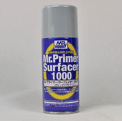 MR HOBBY GUNZE SPRAY 170ml PRIMER SURFACER 1000 B524