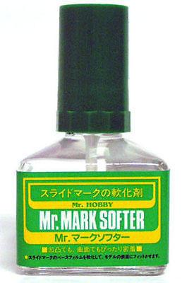 Mr Mark Softer 40ml MS231 Gunze GSI Creos Paint Supply Tool Jar Bottle Liquid - USA Gundam Store