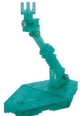 Bandai Hobby Action Base 2 Display Stand (1/144 Scale), Sparkle Green Gundam