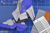 AW-036 Gundam & Weapon Model Detail Thruster Builders Parts Photo Etch Add on