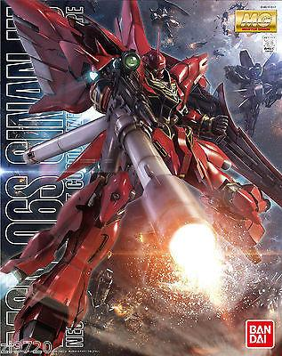 Gundam Unicorn 1/100 MG MSN-06S Sinanju OVA Animation Color Ver Model Kit Bandai