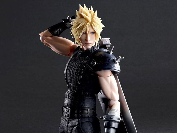 Final Fantasy VII Remake Play Arts Kai Cloud Strife (Version 2)