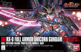 HGUC 1/144 Full Armor Unicorn Gundam (Destory Mode/Red Color Ver.)