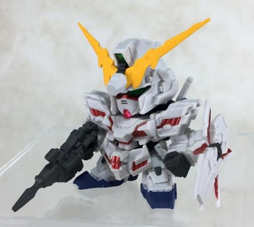 FW SD Gundam NEO RX-0 Unicorn Gundam (Destroy Mode)
