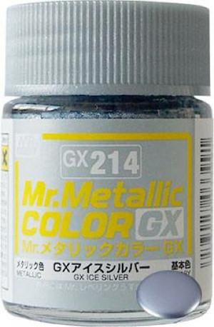 GX214 Mr.Metallic Color GX Ice Silver