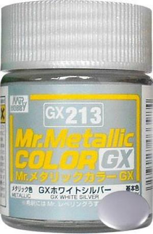 GX213 Mr.Metallic Color GX White Silver