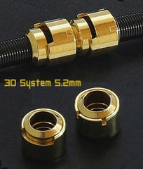 3D.System Metalpipe/Gold 5.2mm 30 ct