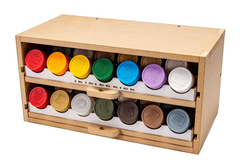 Slide&Tilting Drawer Paint Shelf OPERA-19A (For acrylic, enamel)