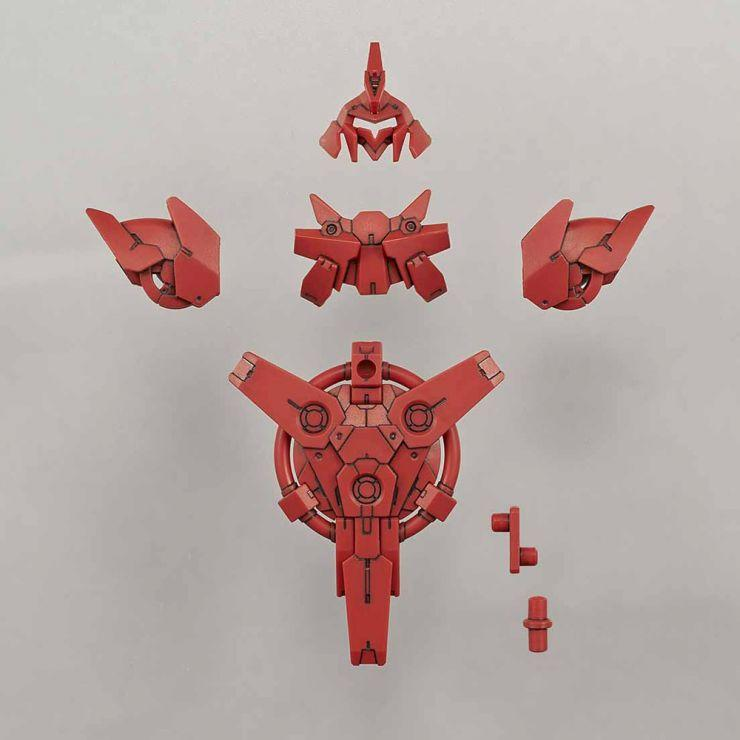 30MM COMMANDER OPTION ARMOR FOR PORTANOVA (RED)