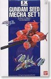 EX Model-15 Gundam Seed Mecha Set