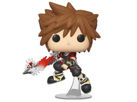 Pop! Games: Kingdom Hearts III - Sora With Ultimate Weapon W/ Pop Protector
