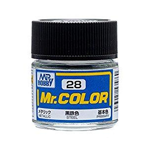 GNZ-C28: C28 Metallic Steel 10ml