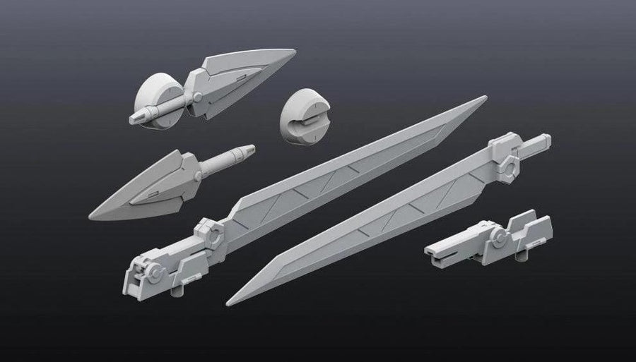 Builders Parts HD - 1/144 MS Sword 01