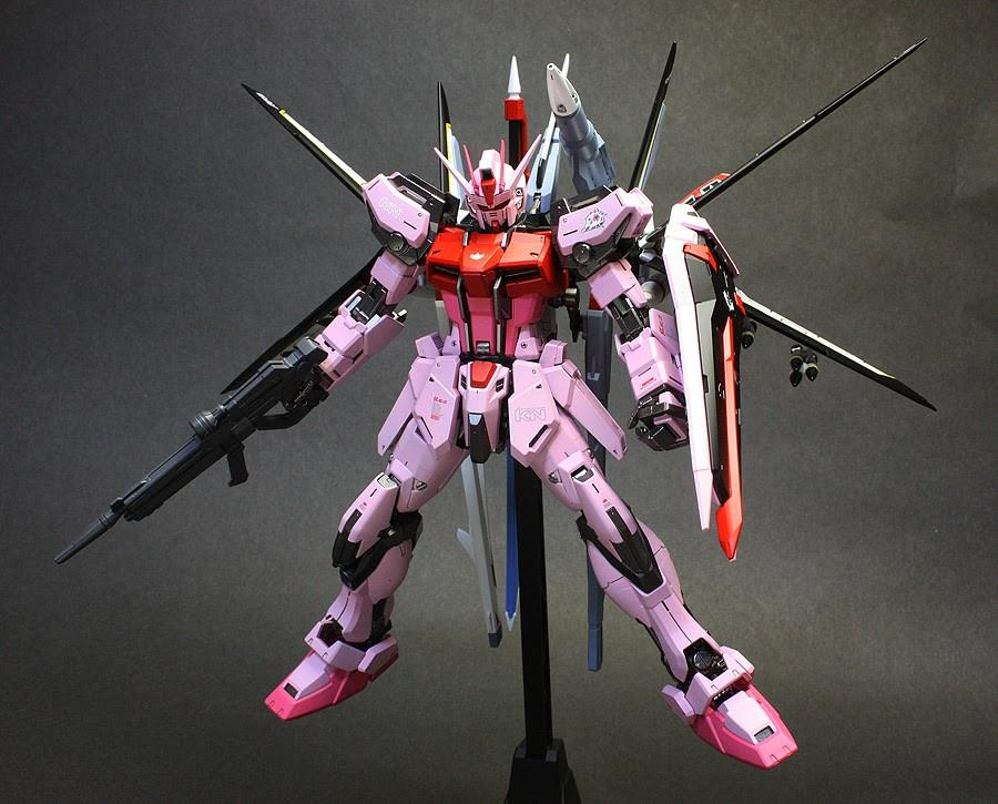 Bandai Hobby MG Strike Rouge Ootori Ver. RM 1/100 Scale Action Figure Model Kit - USA Gundam Store
