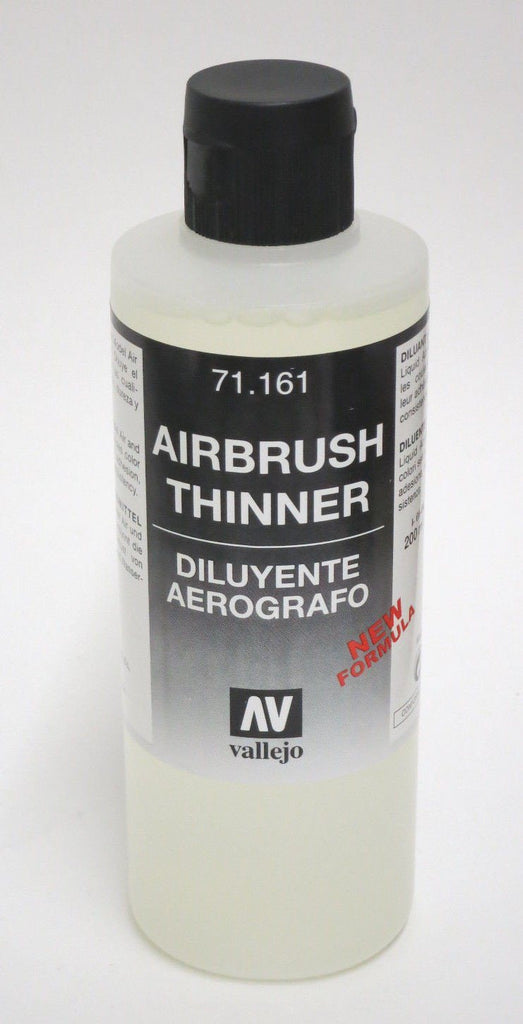 Vallejo AIRBRUSH THINNER 200ml 71.161 For Model Air & Model Color Paint