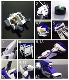 Metal Details Up Parts Set For Bandai 1/100 MG Hi Nu Gundam ver Ka Model Kit