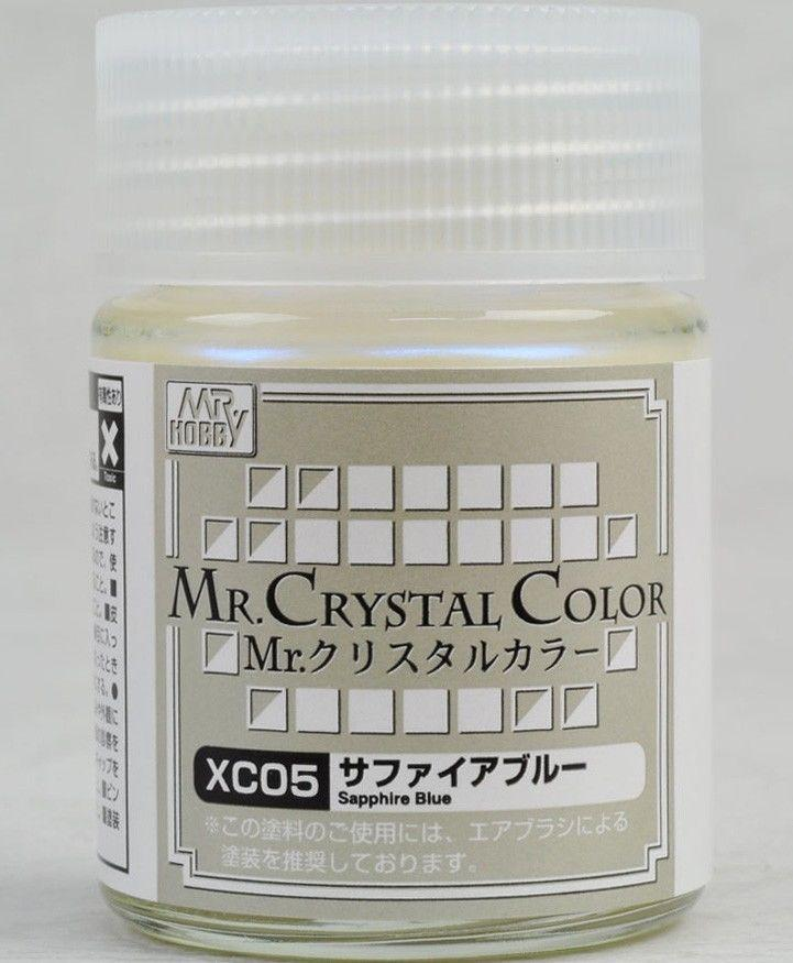 Mr Crystal Color - Sofia Blue