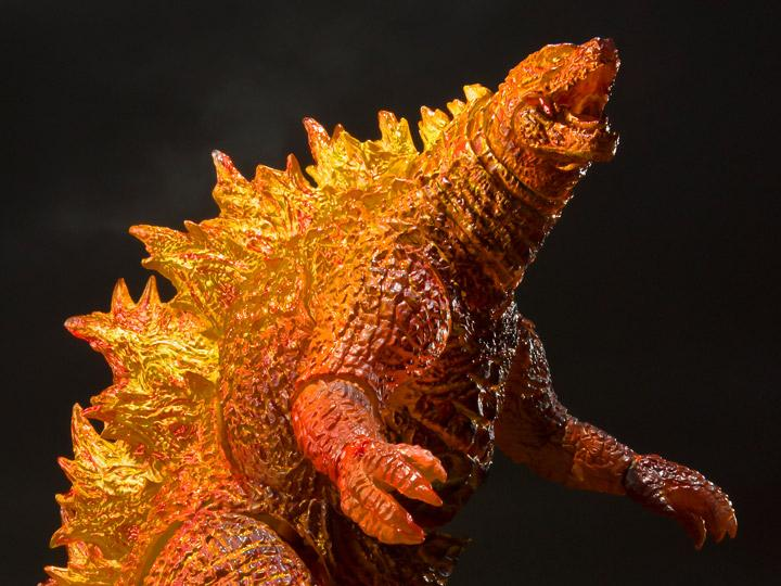 Godzilla: King Of The Monsters S.h.monsterarts Burning Godzilla