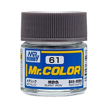 GNZ-C61: C61 Metallic Burnt Iron 10ml