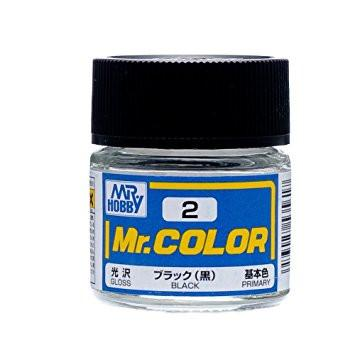 Mr. Color 2  C2- Black (Gloss/Primary)