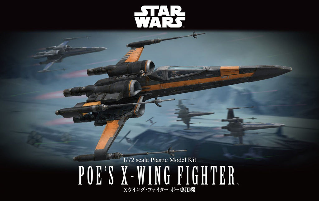 Pre-Order Bandai 1/72 Poe's X-Wing Fighter