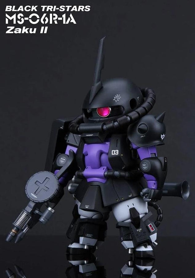 GK white model SD ZAKU high mobility Resin Kit