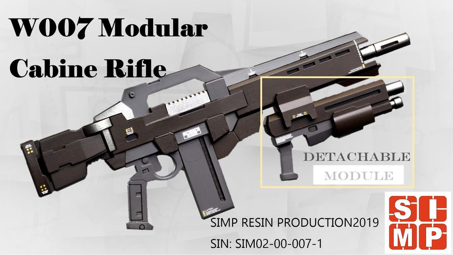 W007 Modular Cabine Rifle 1/100 Resin Kit