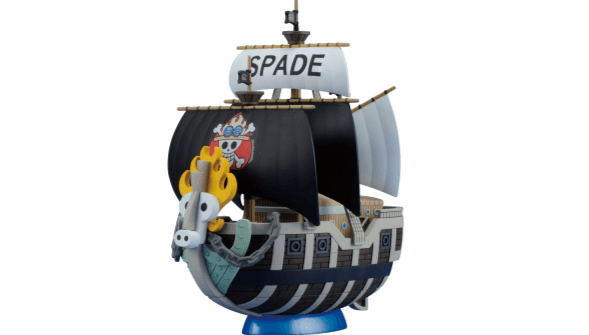 One Piece SPADE PIRATES PIRATE SHIP