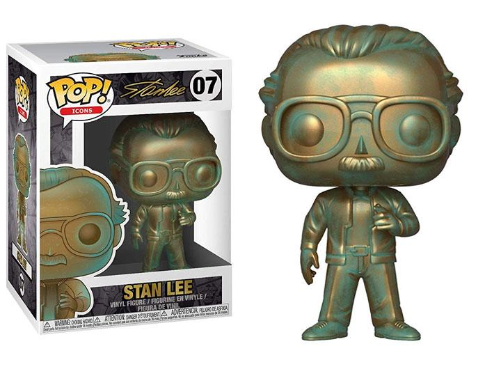 Pop! Icons: Stan Lee (Patina) W Pop Protector