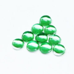 Dome type Beads (Green) / 10pcs