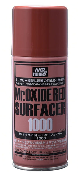 Mr Oxide Red Surfacer Spray 1000