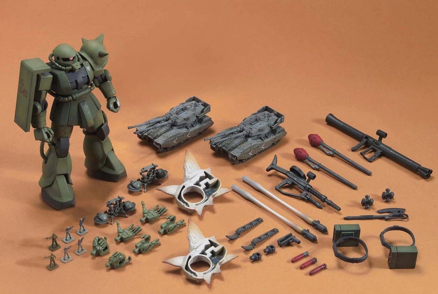 HGUC 1/144 Zaku Ground Attack set