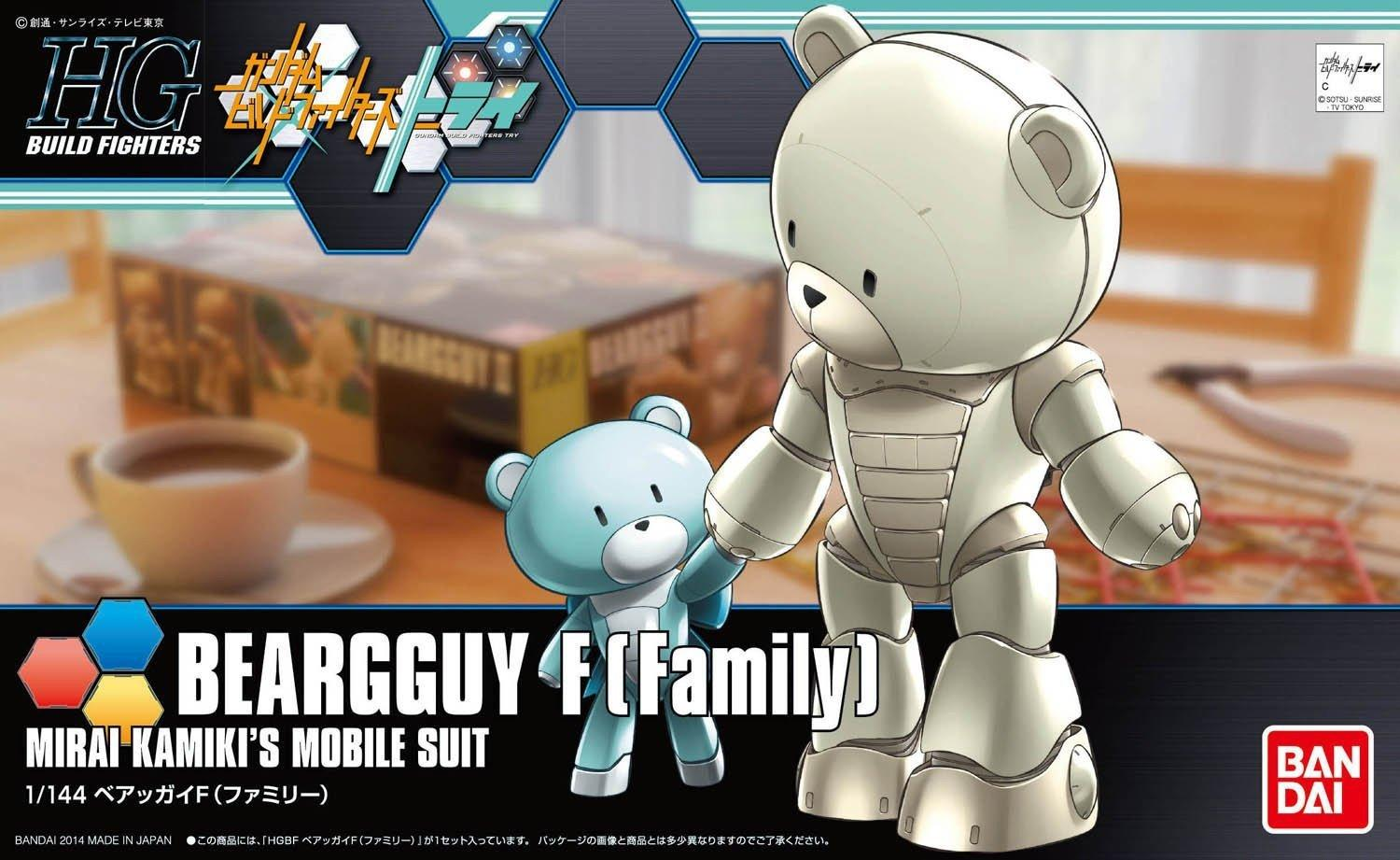 HGBF 1/144 Beargguy F Family