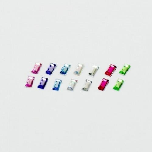 Rectangle Beads / 10pcs Lens