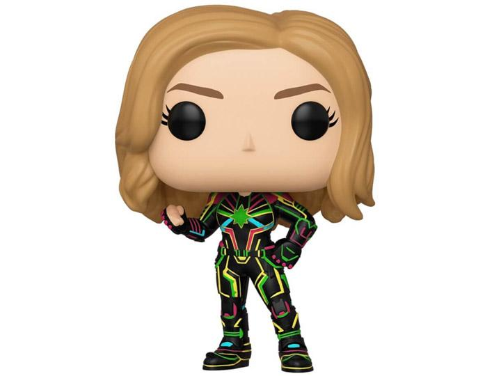 Pop! Marvel: Captain Marvel - Captain Marvel (Neon Suit) W POP Protector