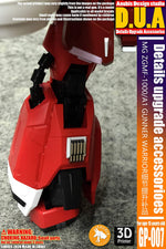 Detail Add-On Fits Bandai Hobby MG ZGMF-1000/A1 ZAKU Warrior Gundam (1/100) Scale Gp-007
