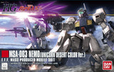 HGUC 1/144 #164 MSA-003 Nemo Unicorn Desert Color Ver