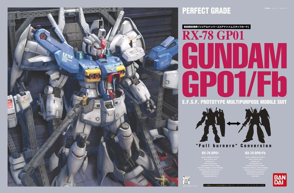 PG RX-78 GP-01 Zephyranthes