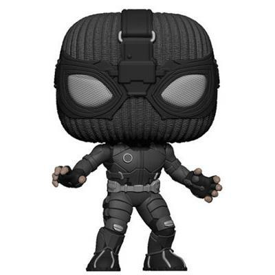 Funko Pop! Movies: Spider-Man: Far From Home - Spider-Man (Stealth Suit) W/ Pop Protector