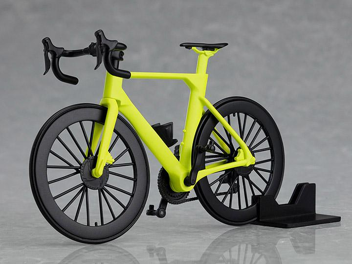 PLAMAX figma Road Bike (Lime Green) 1/12 Scale Model Kit