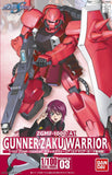 HG 1/100 #03 Gunner Zaku Warrior