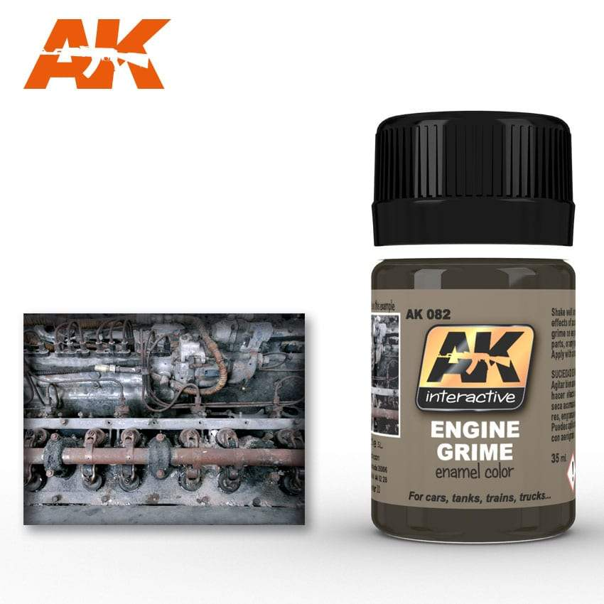AK Interactive Engine Grime