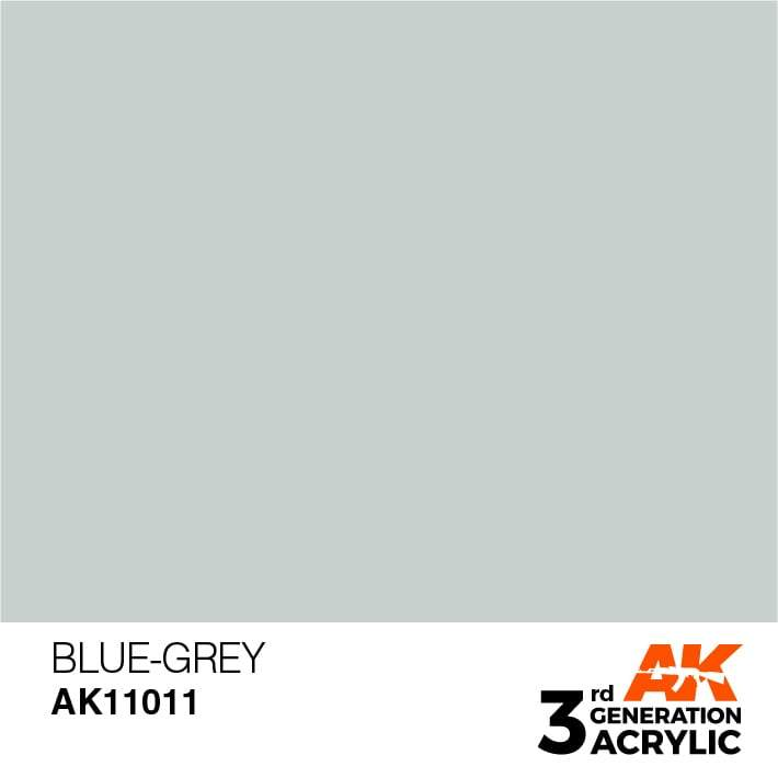 AK Interactive 3rd Gen Acrylic Blue-Grey 17ml