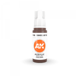 AK Interactive 3rd Gen Acrylic Mahogany Brown 17ml